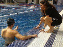 Entrenador personal en actividades acuáticas
