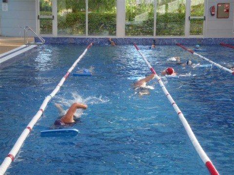 Clases de natación para Gent Gran