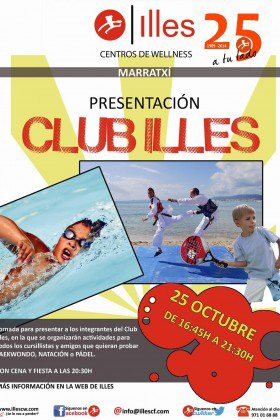 PRESENTACIÓN CLUB ILLES TEMPORADA 2014-2015