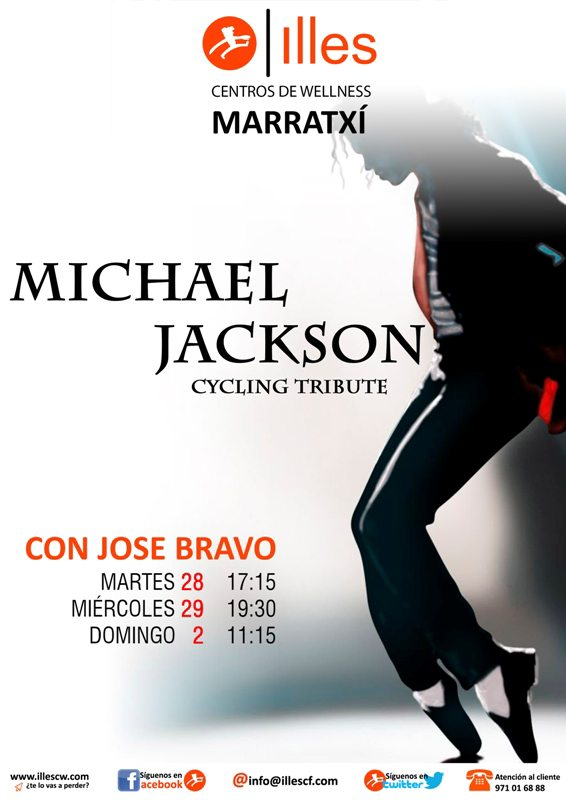 141024 clases CYCLING Michael Jackson MTX red