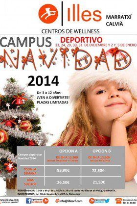 CAMPUS DEPORTIVO NAVIDAD 2014