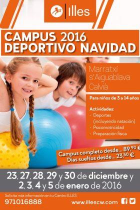 Campus Deportivo Infantil ILLES Navidad 2016