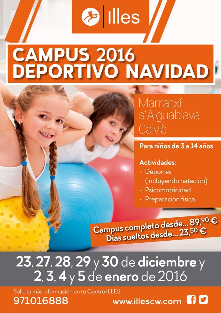 161125 Campus Navidad A3 posters red
