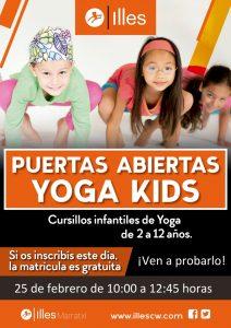 Puertas abiertas Yoga Kids MRTX RED