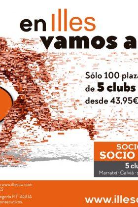 Campaña 5 Clubs para ti desde 43,95 € mes