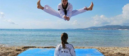 Taekwondo infantil