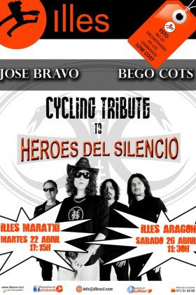 CYCLING TRIBUTE TO HÉROES DEL SILENCIO