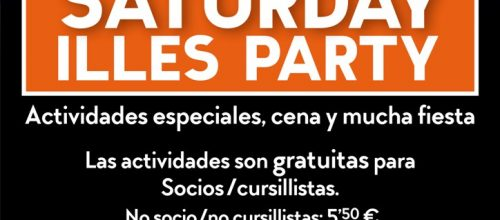 SATURDAY ILLES PARTY