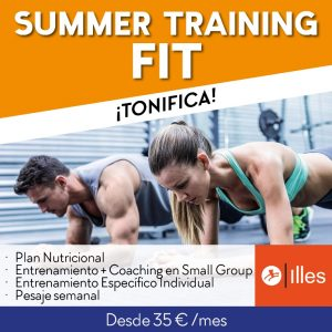 Summer Training FIT redes sociales red