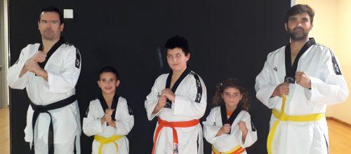 Taekwondo en família, en Illes algo más que un deporte