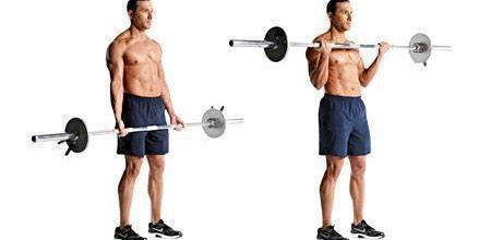Técnica de ejecución curl de bíceps con barra