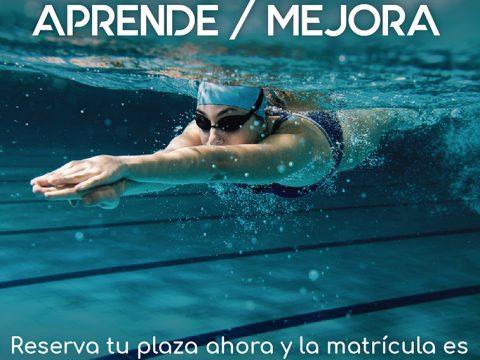 Aprende y Mejora. Cursillos de natación