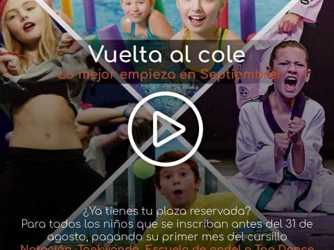 VUELTA AL COLE… Lo mejor empieza en septiembre!